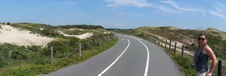 Sommer 2016 mit dem Rad zum Strand von Wassenaar (Holland)